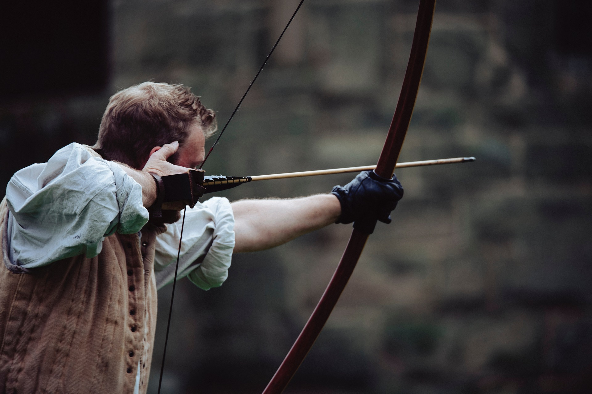 parts of a long bow